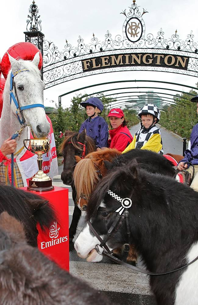 VRC's 2013 Emirates Melbourne Cup Tour Destination Launch