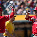 Los Angeles Angels of Anaheim v Oakland Athletics Getty Images