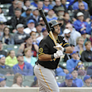 Pittsburgh Pirates' Pedro Alvarez watches his three-run home run against the Chicago Cubs during the seventh inning of a baseball game on Thursday, April 10, 2014, in Chicago The Associated Press