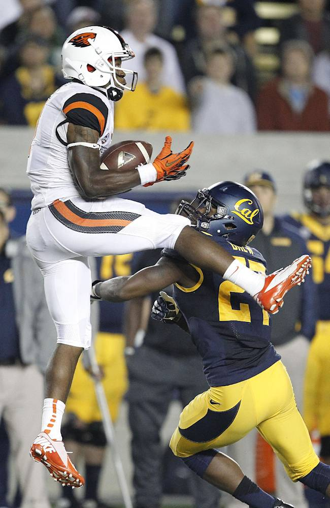 Brandin Cooks putting up big stats for Oregon St