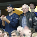 Jerry Jones, Tony Romo (AP)