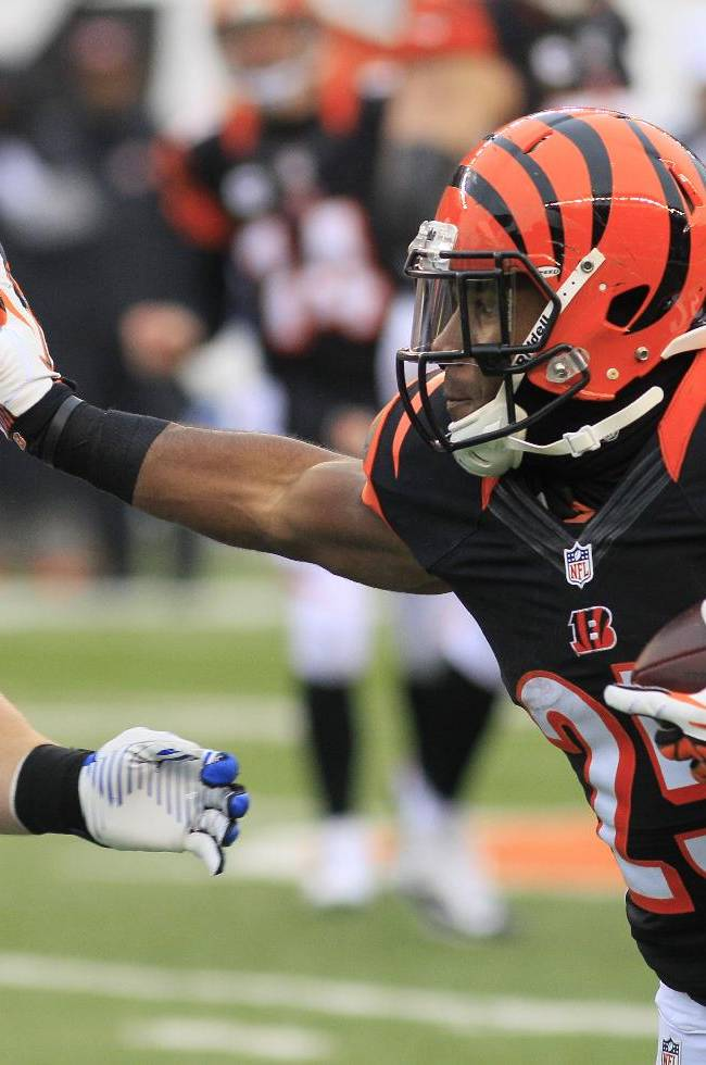 Rookie Bernard growing into big role for Bengals