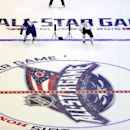 Toronto Maple Leafs' Phil Kessel (81) of Team Foligno, edges out Dallas Stars' Tyler Seguin (91) during a heat in the Fastest Skater competition during the NHL All-Star hockey skills competition in Columbus, Ohio, Saturday, Jan. 24, 2015. Team Foligno won