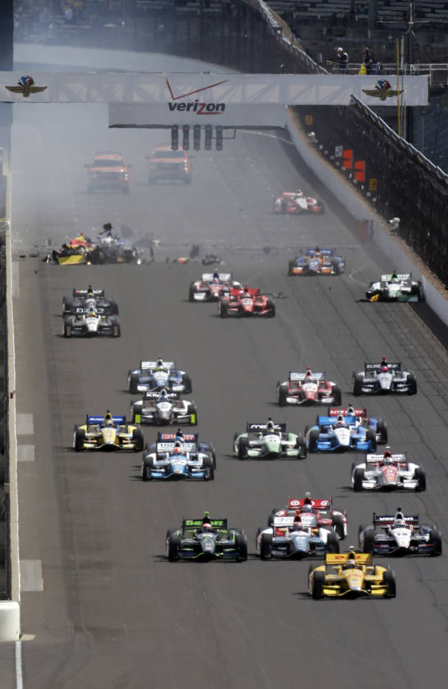 IndyCar standing pat with maligned standing starts