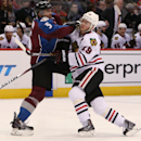 Bickell lifts Blackhawks over Avalanche, 3-2 The Associated Press