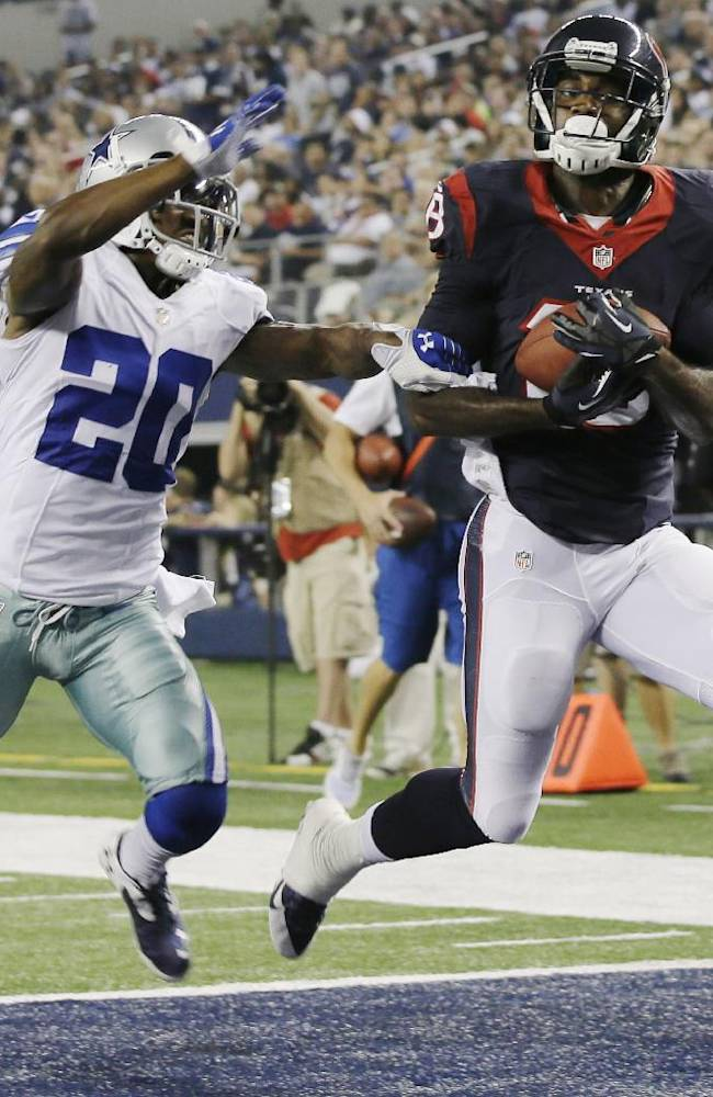 Keenum, Yates toss TDs, Texans top Cowboys 24-6
