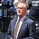 BROOKLYN, NY - MAY 12: Pat Riley president of the Miami Heat during the game against the Brooklyn Nets in Game Four of the Eastern Conference Semifinals on May 12, 2014 at Barclays Center in Brooklyn. (Photo by Jesse D. Garrabrant/NBAE via Getty Images)
