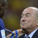 After Brazil, Blatter focuses on FIFA election
