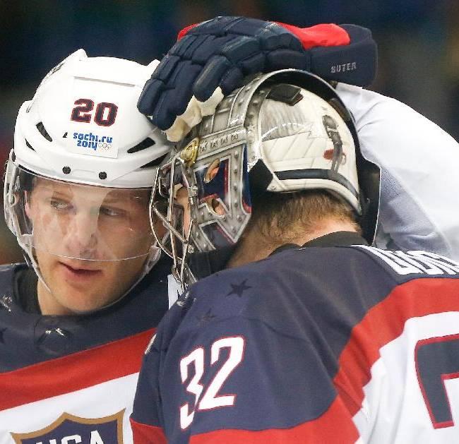 US-Canada hockey rivalry hits Olympic semifinals