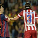 Barcelona 0-0 Atletico Madrid (Agg. 1-1, Barcelona wins on away goals): Messi misses penalty as Simeone's men see red in Supercopa defeat