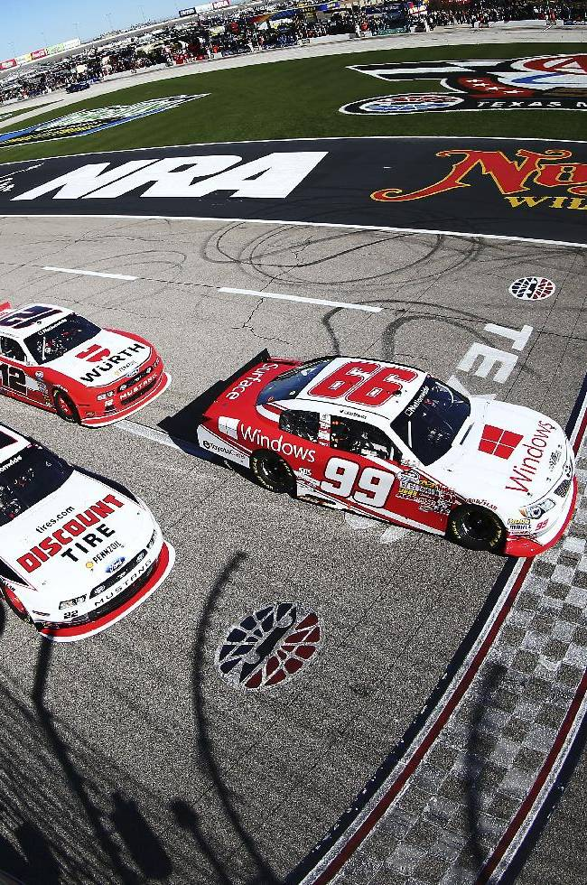 Keselowski wins Nationwide race at Texas