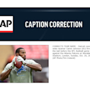 CORRECTS TEAM NAME - Detroit Lions wide receiver Calvin Johnson (81) throws the ball before the NFL football game against the Atlanta Falcons at Wembley Stadium, London, Sunday, Oct. 26, 2014 The Associated Press
