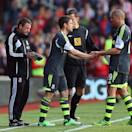SOUTHAMPTON, ENGLAND - MAY 19:  Michael Owen of Stoke City is brought on during the Barclays Premier League match between Southampton and Stoke City at St Mary's Stadium on May 19, 2013 in Southampton, England.  (Photo by Bryn Lennon/Getty Images)