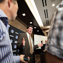 Mountain West Commissioner Craig Thompson speaks with reporters during the Mountain West Conference football media day at the Cosmopolitan hotel-casino Tuesday, July 22, 2014, in Las Vegas The Associated Press