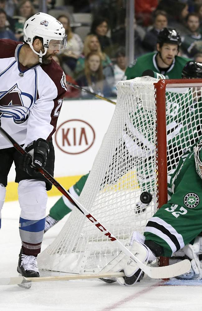Stastny's 2nd goal gives Avs OT win over Stars