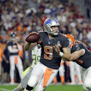 Detroit Lions' Matthew Stafford looks to pass during the first half of the NFL Football Pro Bowl Sunday, Jan. 25, 2015, in Glendale, Ariz The Associated Press