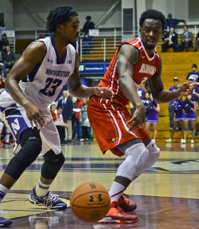 Illinois St. holds off Northwestern 68-64