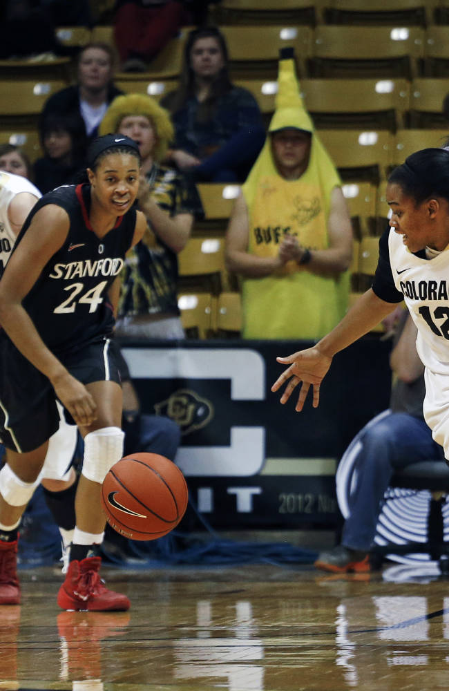 Ogwumike leads Stanford over Colorado 87-77