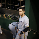 Milwaukee Brewers right fielder Ryan Braun prepares to take the field for a baseball game against the Pittsburgh Pirates in Pittsburgh Friday, Sept. 19, 2014. The Pirates won 4-2 The Associated Press