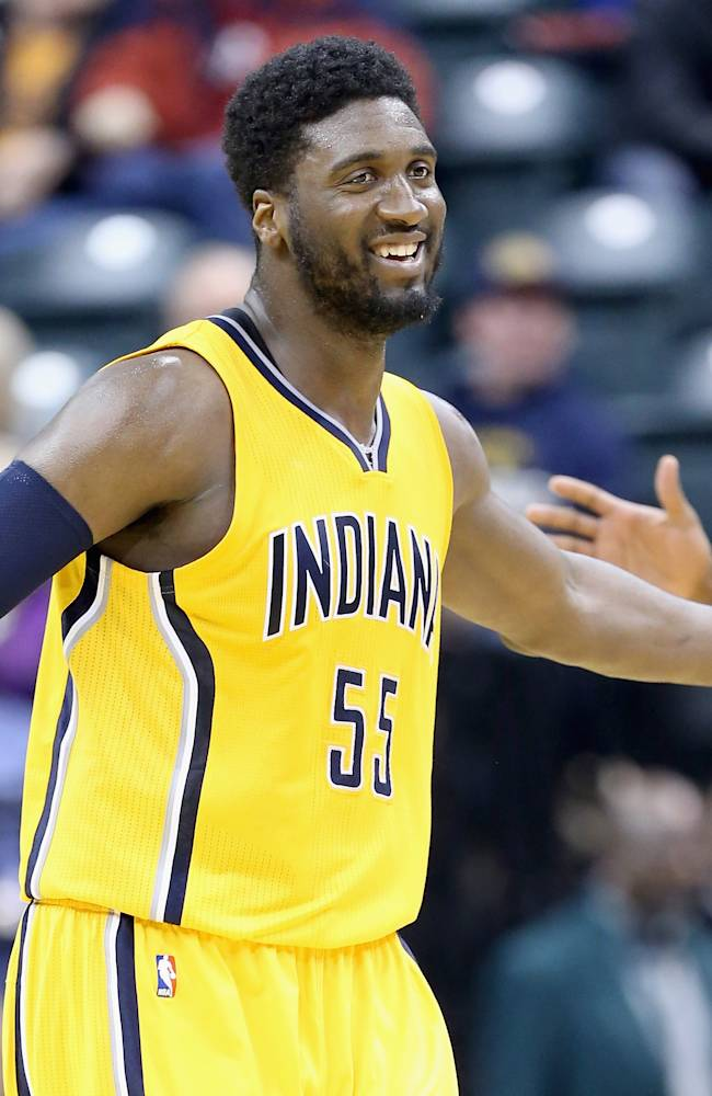 Roy Hibbert leads surging Pacers to 94-74 win over 76ers