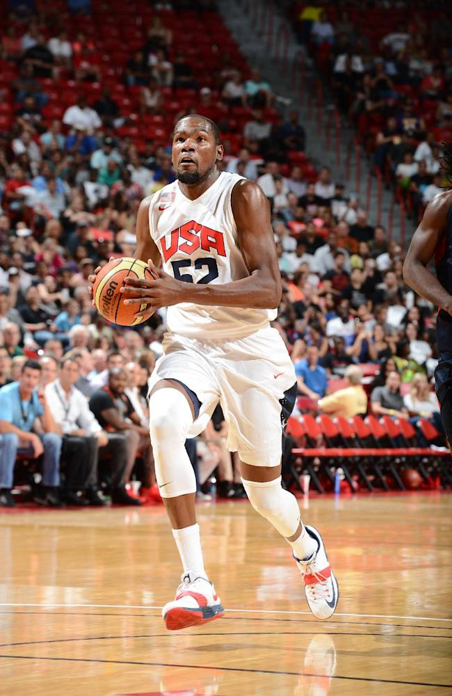 Durant withdraws from US national team