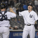 After 13 saves, Miller dubbed Yanks' closer The Associated Press