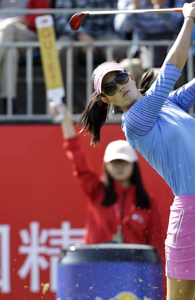 Choi, Korda lead at Reignwood Classic in Beijing