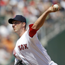 Boston Red Sox starting pitcher Chris Capuano throws in the fourth inning of an exhibition baseball game against the Tampa Bay Rays in Fort Myers, Fla., Monday, March 10, 2014 The Associated Press