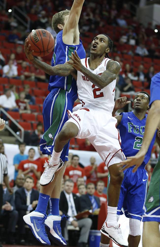 North Carolina State's Anthony