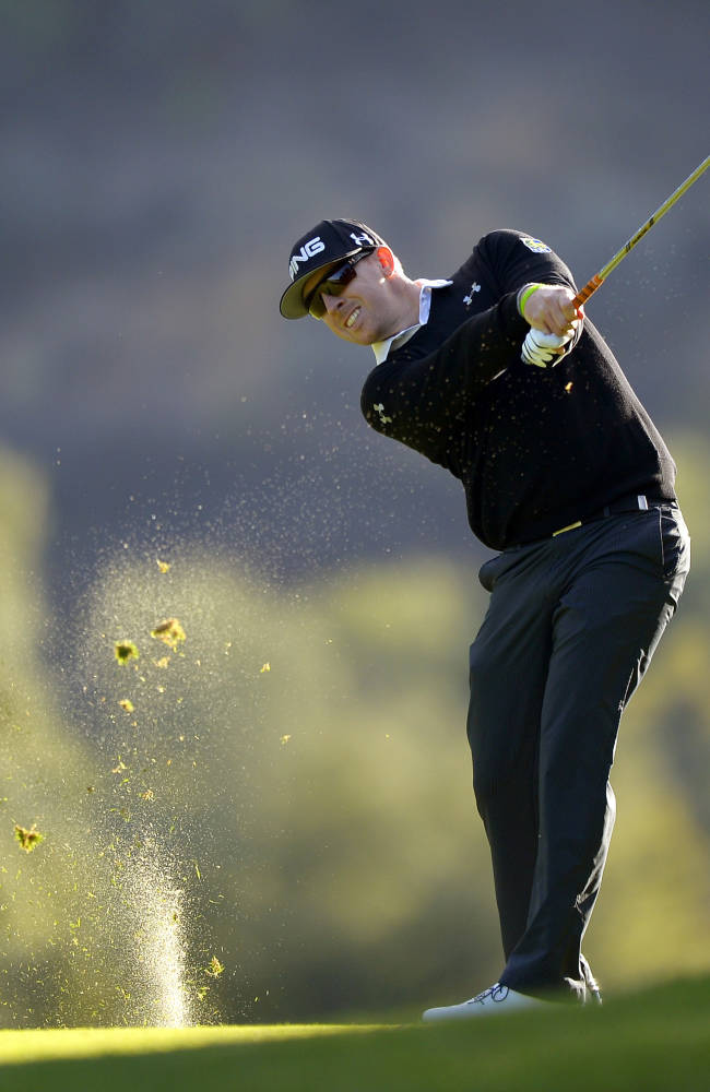 Zach Johnson opens with 67 for lead at Sherwood