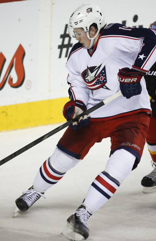 Nikitin's OT goal lifts Blue Jackets over Flames