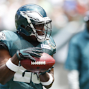 Philadelphia Eagles running back LeSean McCoy catches a pass during NFL football training camp Monday, July 28, 2014, in Philadelphia The Associated Press