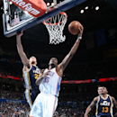 Durant leads Thunder past Jazz 99-94 The Associated Press