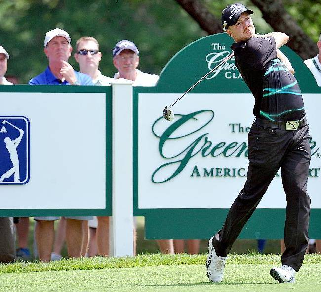 Defending champ Blixt leads Greenbrier Classic