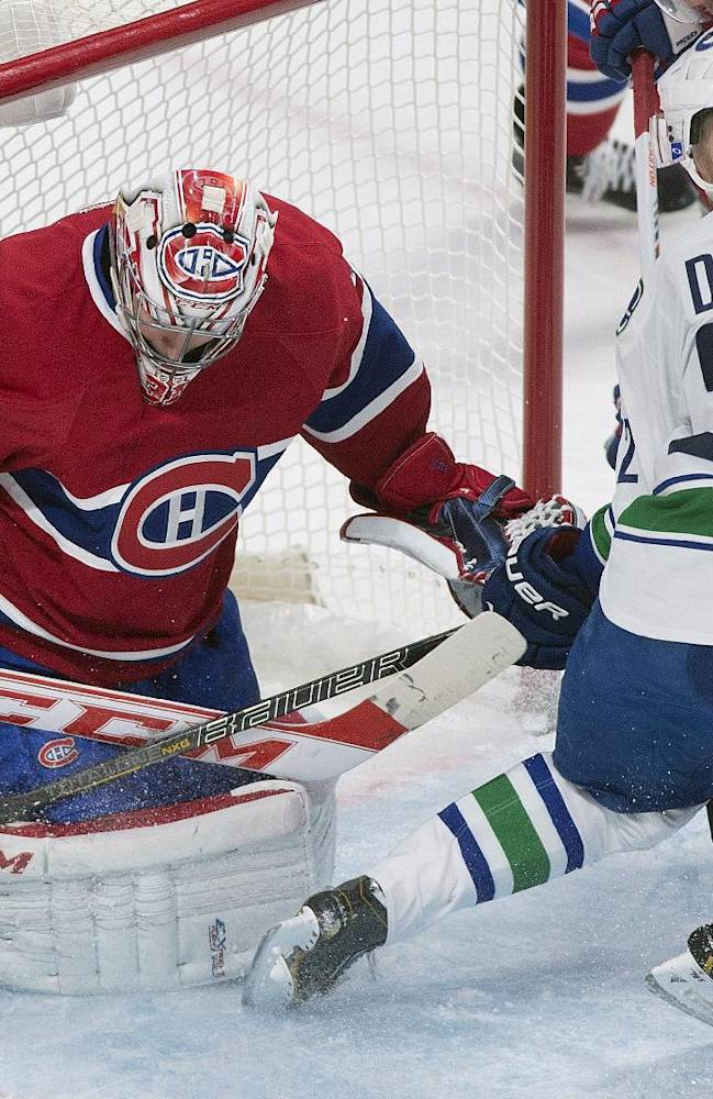 Pacioretty leads Canadiens past Canucks 5-2