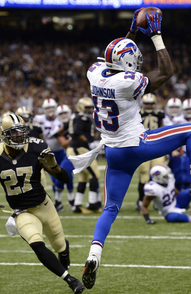 Brees' 5 TD passes lead Saints past Bills, 35-17