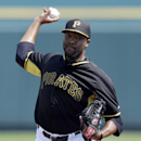 Pittsburgh Pirates pitcher Jay Jackson throws during the first inning of a spring exhibition baseball game against the Baltimore Orioles in Bradenton, Fla., Monday, March 10, 2014 The Associated Press