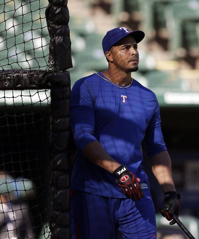 Cruz reinstated and back in Rangers lineup