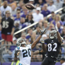 Smith, Ravens excel at Panthers' expense The Associated Press
