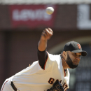 Giants' Petit retires 46 straight for MLB record The Associated Press