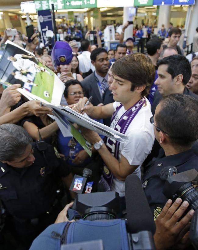 Orlando MLS club formally introduces Kaka