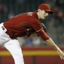 Arizona Diamondbacks' Brandon McCarthy throws against the New York Mets during the first inning of the MLB National League baseball game on Wednesday, April 16, 2014, in Phoenix The Associated Press