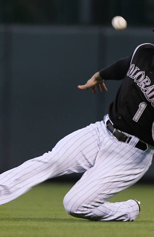 Dickerson's hit in 13th lifts Rockies past Marlins