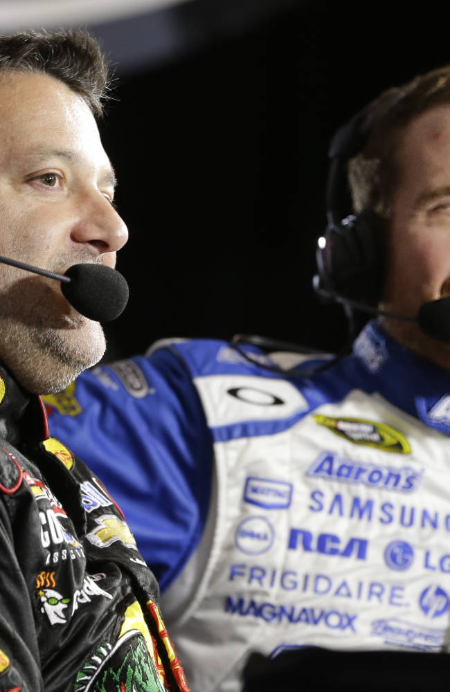 NASCAR driver Tony Stewart gets flagged for weighty issue