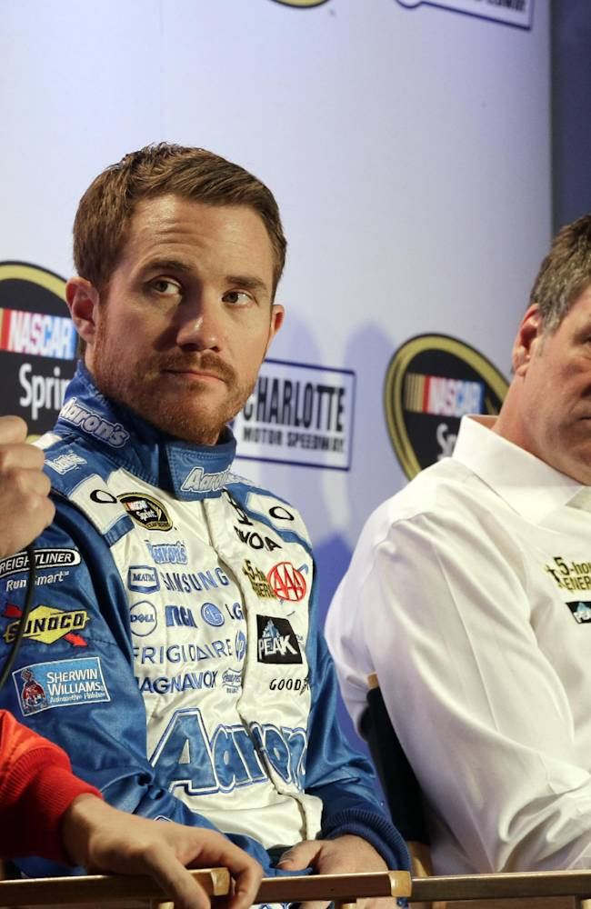 NASCAR's Brian Vickers eager to race after heart surgery