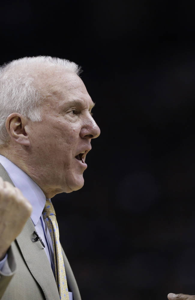 Spurs' Popovich wins NBA Coach of the Year