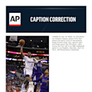 CORRECTS DAY OF WEEK TO SATURDAY - Los Angeles Clippers guard Chris Paul shoots the ball in front of Sacramento Kings forward Rudy Gay, second right, and Kings guard Ray McCallum, right, during the first half of an NBA basketball game in Los Angeles, Satu