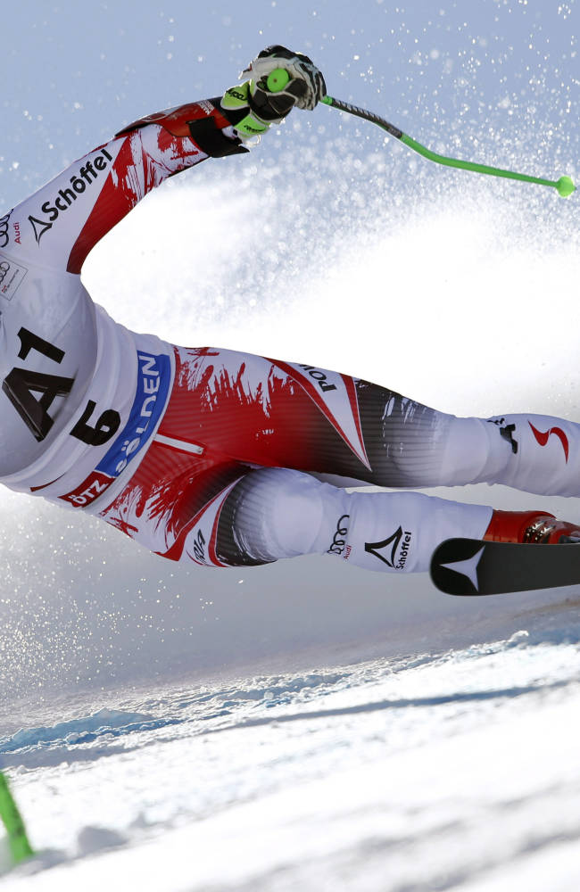 Hirscher wins World Cup GS, Ligety finishes 10th