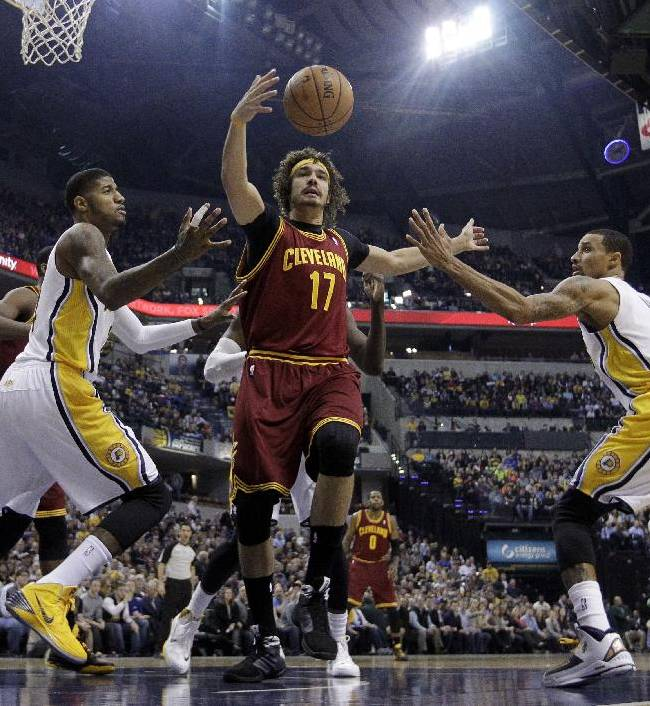 George's 21 points lead Pacers past Cavs, 91-76