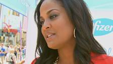 Laila Ali Discusses Posing For Her First Bikini Shoot